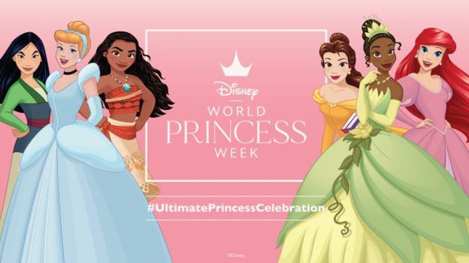 disney princess week