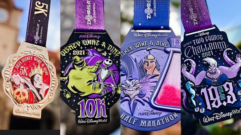 rundisney medal