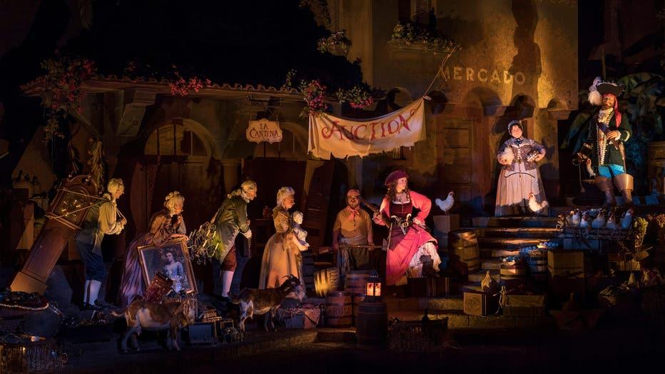 disney pirates of the caribbean