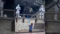 VIDEO: Boy stands up to First Order at Disney's Hollywood Studios