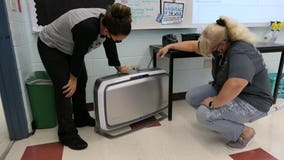 Alachua County classrooms get 1,700 new air purifiers