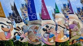 Medals revealed for upcoming Walt Disney World Marathon Weekend