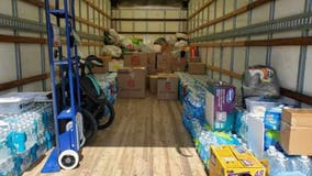 Kissimmee police collect donations for Hurricane Ida victims