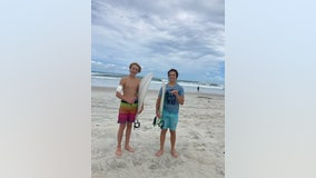 Teen surfer walks away with stitches after shark attack in Volusia County