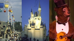 What attractions were open when Magic Kingdom debuted in 1971?