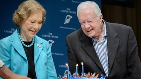 Well-wishes pour in for Jimmy Carter ahead of his 97th birthday