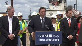 Gov. DeSantis says Florida will make major infrastructure improvements to Tampa Bay area highways