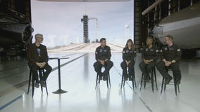 Inspiration4 crew gears up for historic launch on Wednesday