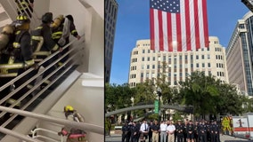 Central Florida first responders climb flights of stairs to honor 9/11 victims