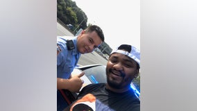 'Thank you, thank you, thank you': Georgia trooper helps stranded motorist