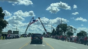 Slain US service member Maxton Soviak honored in Ohio procession
