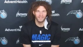 Magic's newest player shares his excitement for Disney, moving to Orlando