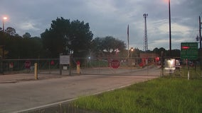 5 taken to hospital after chemical exposure at waste station