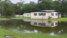Heavy rain brings flooding woes for Sanford homeowners