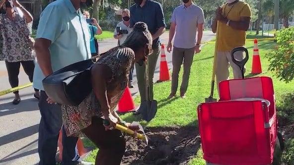 City of DeLand commemorates lynching victim