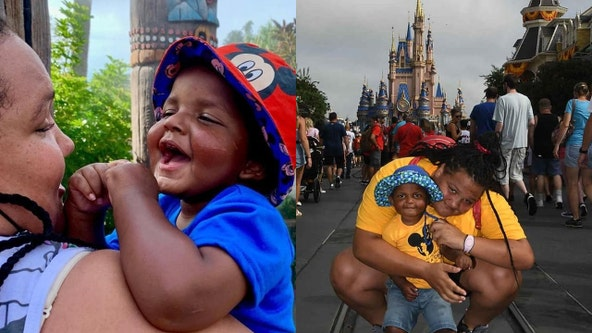 'A blessing': 2-year-old boy battling brain cancer visits Walt Disney World