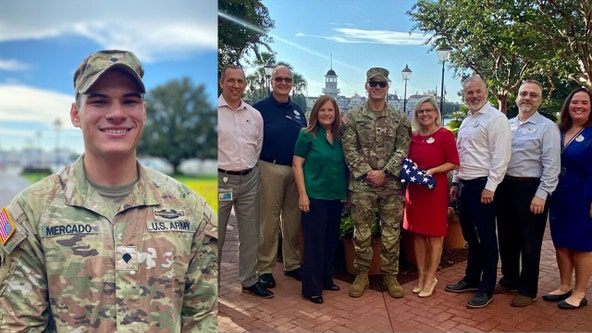 Disney World welcomes back cast member after military service overseas
