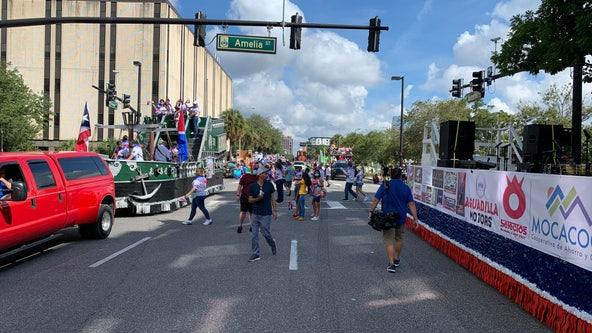 5th annual Puerto Rican parade held in Orlando