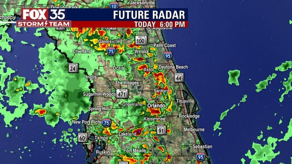 TIMELINE: More storms expected to roll through Central Florida