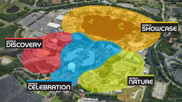 Epcot transformation: New neighborhoods take effect on October 1st