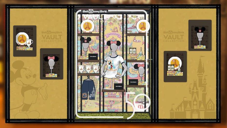 disney vault collection merchandise