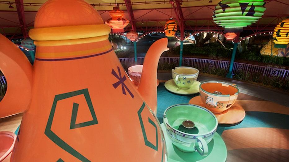 mad tea party walt disney world