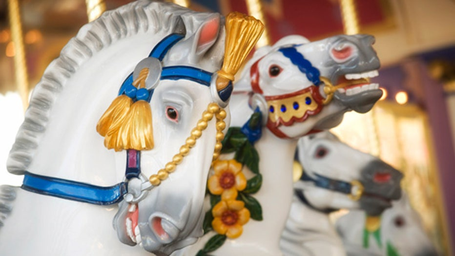 Prince Charming Regal Carrousel walt disney world