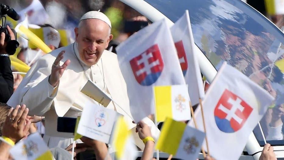 SLOVAKIA-VATICAN-RELIGION-POPE