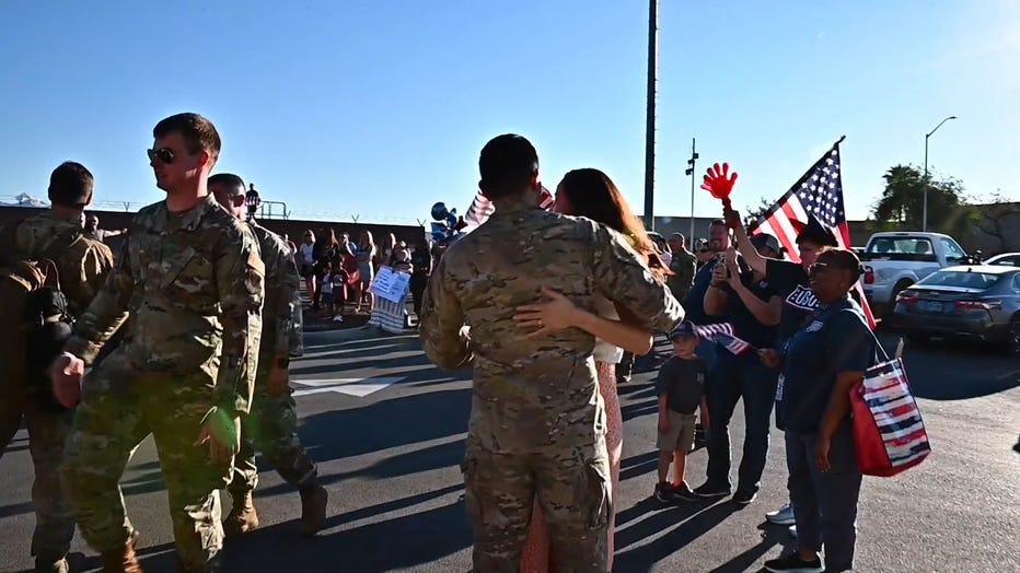 airmen welcomed home