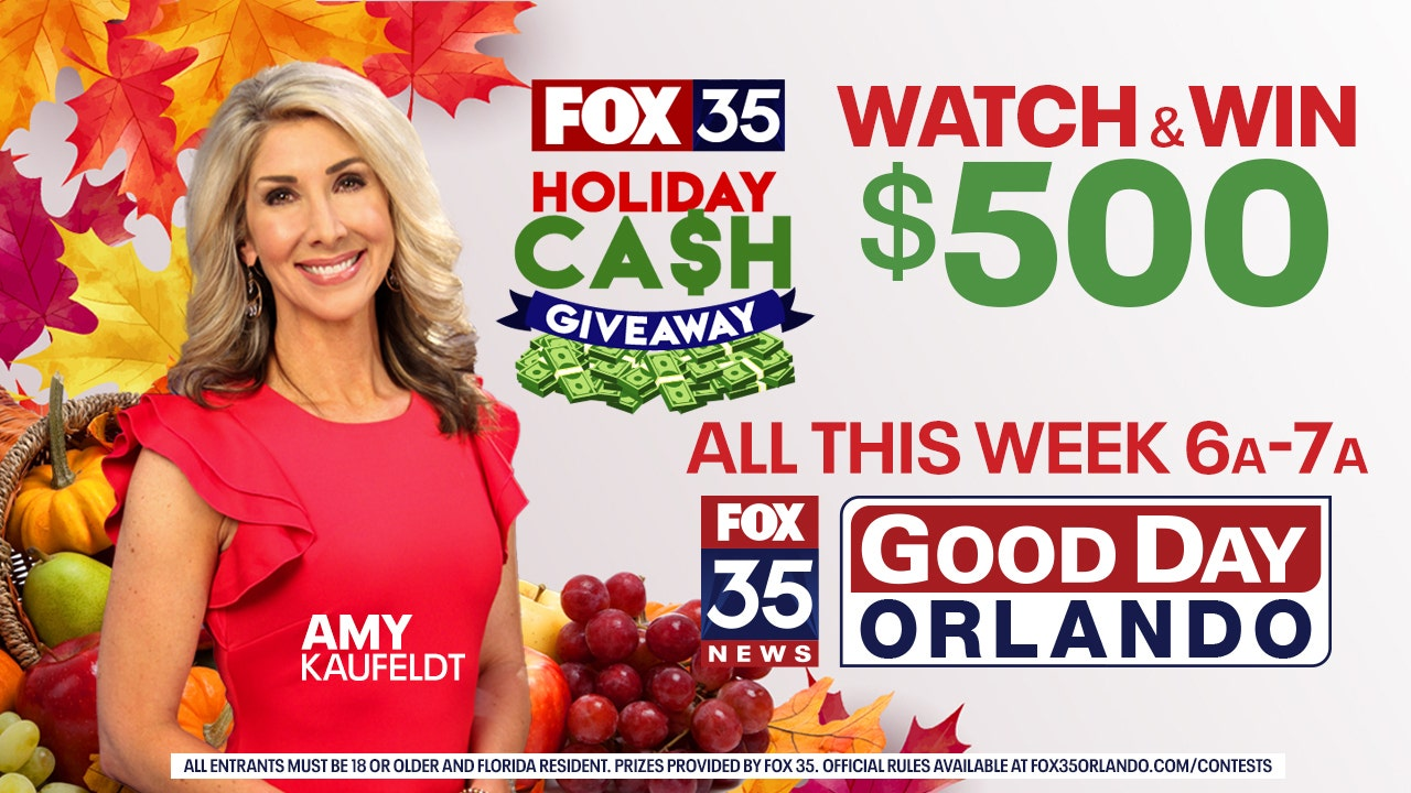 FOX 35 Holiday Cash Giveaway