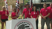 Group of Orange County firefighters rally against vaccine mandate