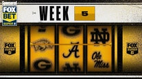 College Football Week 5: 'Stack The Cash,' win big with FOX Super 6