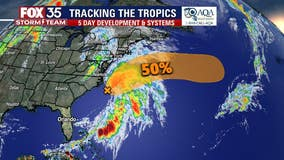 Forecasters watching potential system forming off U.S. coast