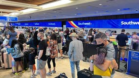 Southwest continues to cancel more flights on Monday after weekend disruptions