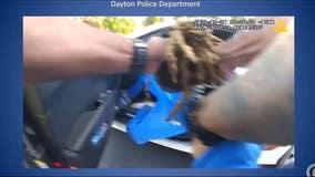 'I'm a paraplegic': Bodycam video shows Dayton officers drag man from car