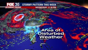Incoming storm system could bring showers, storms to Central Florida