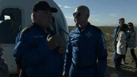 William Shatner heads to 'Final Frontier' with Blue Origin trip