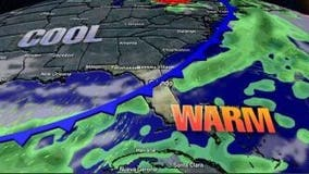 Cold front to drop temps into the 60s, possibly 50s in Central Florida
