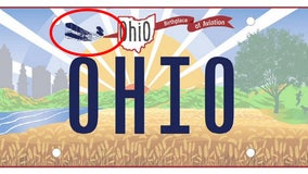 Wright Brothers, wrong design: Ohio printed 35,000 inaccurate license plates