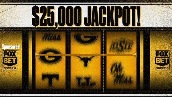 College football week 7: Win $25,000 free with FOX Super 6
