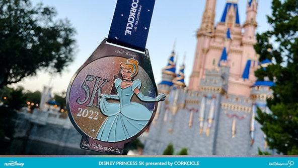 Disney reveals 2022 Princess Half Marathon medals