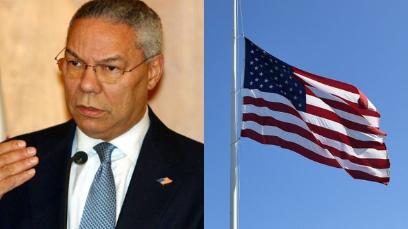 Flags flown at half-staff across Florida to honor Colin Powell