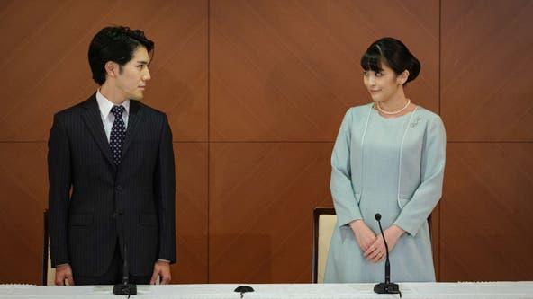 Japan's Princess Mako gives up royal status to marry commoner boyfriend