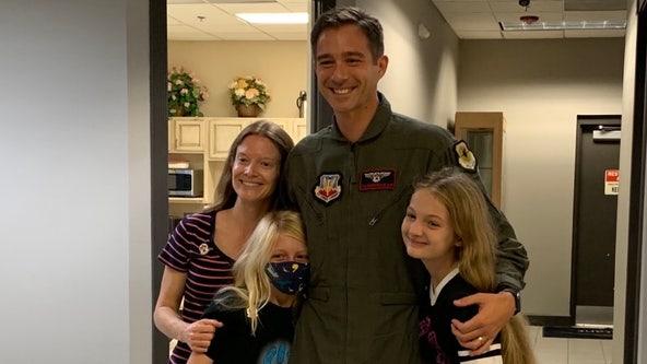 Thunderbirds take Seminole County 'Teacher of the Year' on special flight