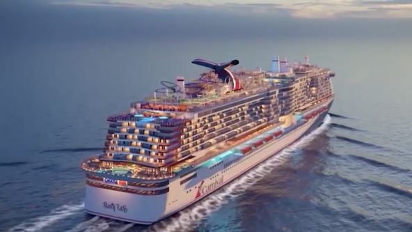 Carnival to christen new Mardi Gras ship at Port Canaveral