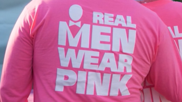 'Real Men Wear Pink' raising money to fight breast cancer