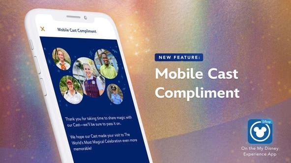 Disney debuts 'Cast Compliment' feature in mobile app