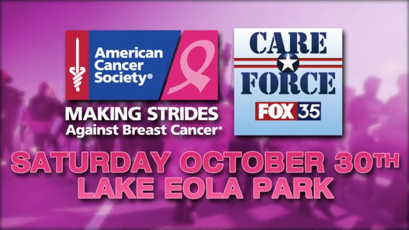 Making Strides Against Breast Cancer event Oct. 30