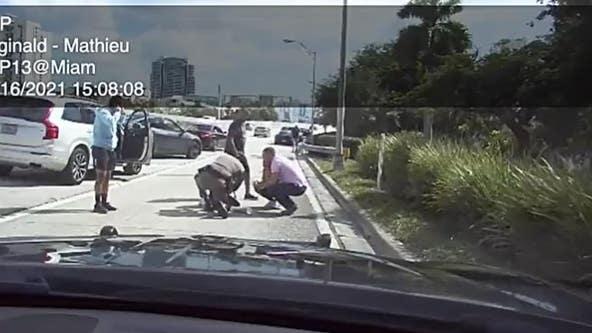 Florida Highway Patrol trooper helps save unresponsive 1-year-old on I-95