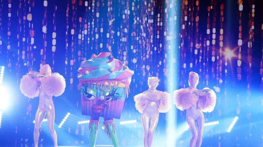 'The Masked Singer' Cupcake reveal was the icing on the cake